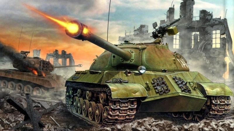 Тяжелые танки СССР времен второй мировой Оружие победы Бронетехника времен великой отечественной