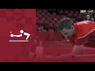 Дмитрий Овчаров — Кирилл Скачков. Настольный теннис (муж). Раунд 3.Олимпиада-2020