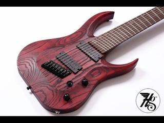 Hapas Kayzer 8FF 8-string Custom Guitar playthrough