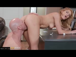 Johnny Sins  Aspen Rose [ Students _ A uniform, Deep blowjob, Skirt, Teacher