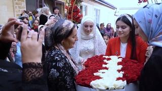 Шикарная Чеченская Свадьба Халида и Тайны. . Видео Студия Шархан