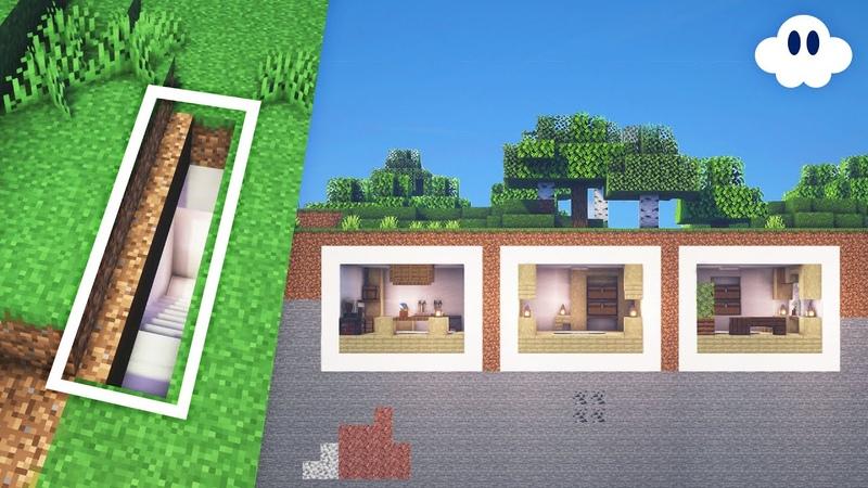 Minecraft How to Build a Modern Secret Base