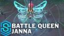 Battle Queen Janna Skin Spotlight - Pre-Release - League of Legends