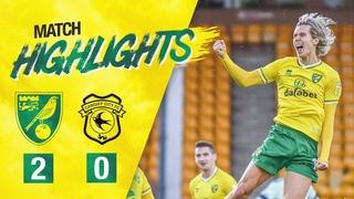 Норвич Сити 2-0 Кардифф (20 тур Чемпионшипа)
