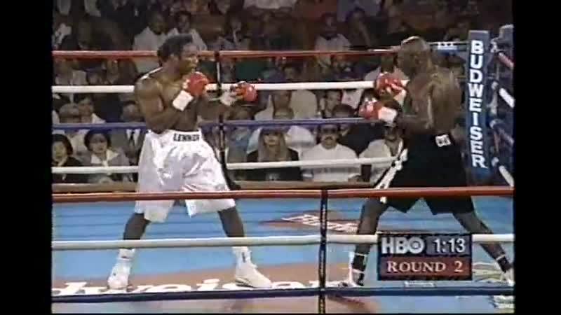 Lennox Lewis vs Henry Akinwande HBO World Championship Boxing July 12 1997