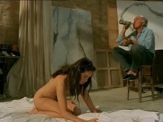 Голая Эммануэль Беар (Emmanuelle Bart) в фильме Очаровательная проказница (La belle noiseuse) 1991