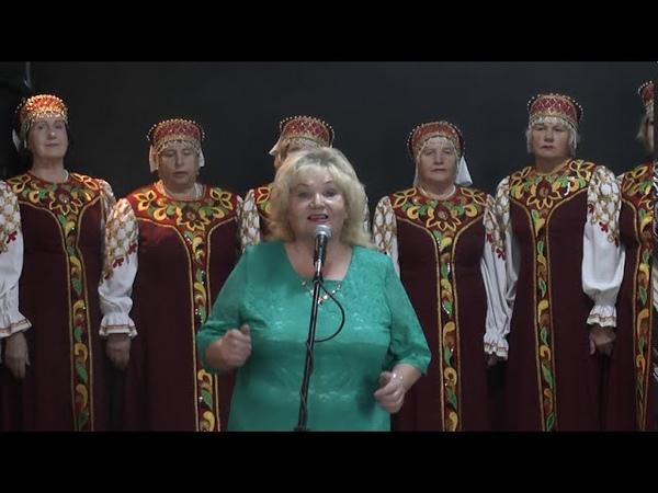 Концертная программа хора ветеранов Судьба г Барабинск
