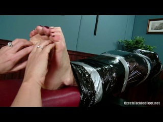 Tickled and Oiled Feet by Salome