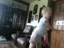 я танцую гимнастический танец