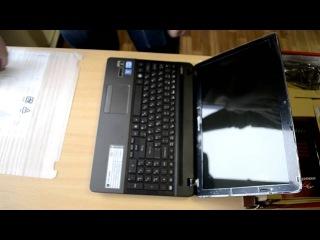 BYTE  Unboxing ноутбука Packard Bell