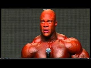 Kai Greene and Phil heath final - Phil Heath cries (Muscle factory)