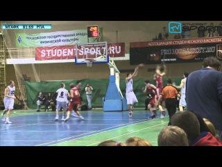 Новости студенческого спорта. Дневник Финала четырех Ассоциации Студенческого Баскетбола среди мужских команд