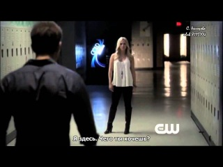 The Vampire Diaries Webclip 2 4x10  After School Special (RUS Subs)