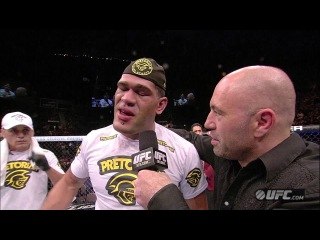 UFC 156: Antonio Silva Post-Fight Interview