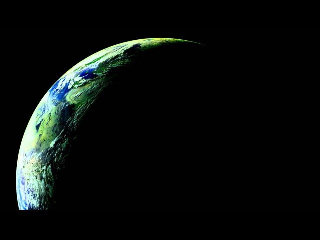 Planet Earth's Northern Hemisphere