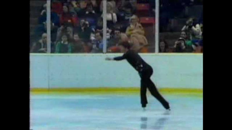 Robin Cousins GBR 1980 Lake Placid Men's Long Program