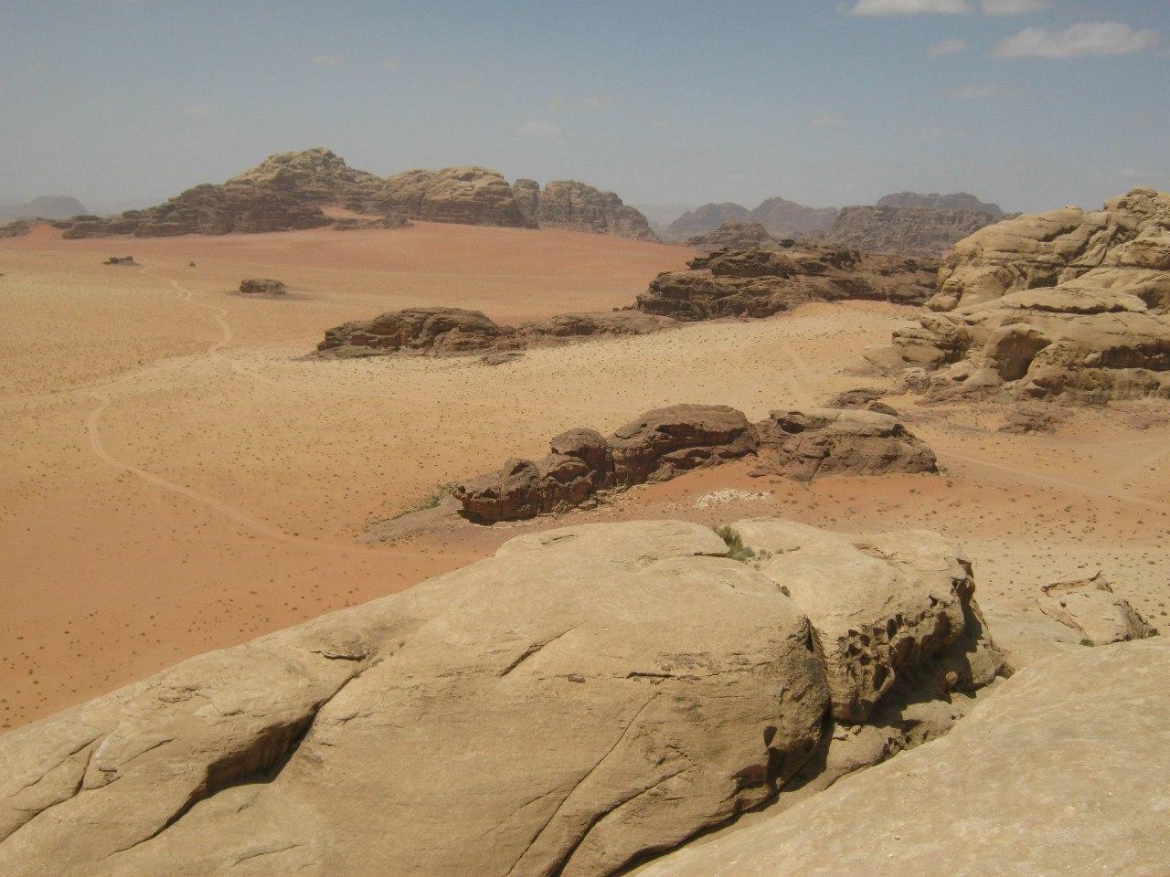 Климат в пустыне