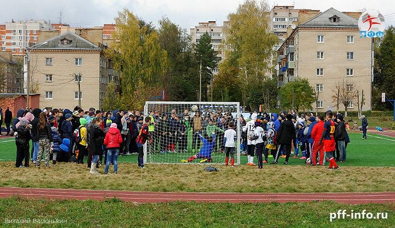 Футбол исторически развит в Кутузово