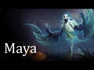 Maya - Распределение веса -  Анимация Часть 5