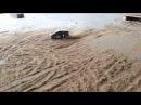 Traxxas Rally / Ken Block Gymkhana Ford Fiesta 1:16 vs. Kyosho DRX VE Brushless 1:8 at Rally Track