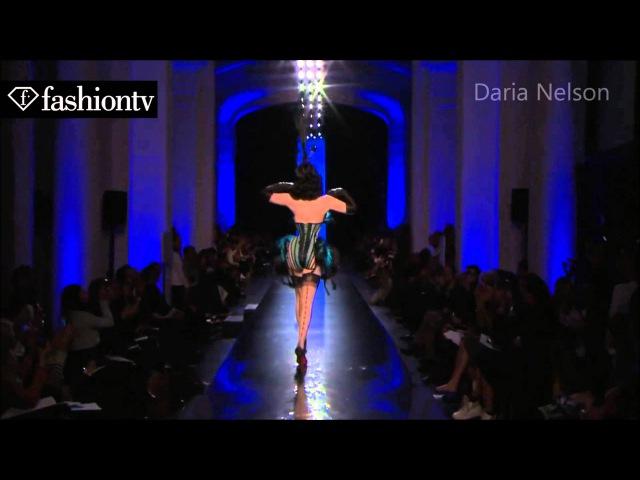 Dita von Teese at Jean Paul Gaultier Spring Summer 2014