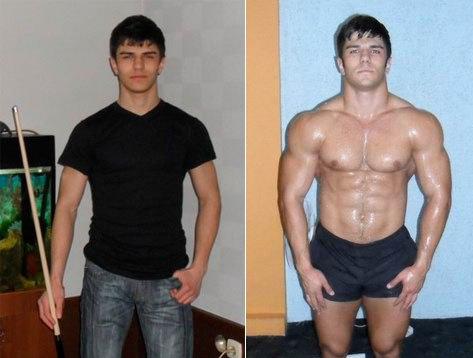 Протеин картинки до и после
