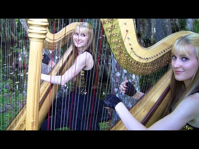 SMOKE ON THE WATER Deep Purple Harp Twins Camille and Kennerly HARP ROCK METAL