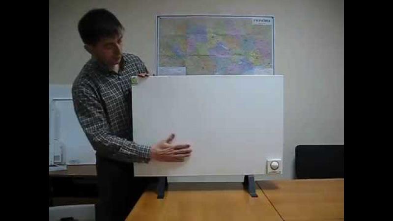 Инфракрасные панельные обогреватели ENSA. Обзор.