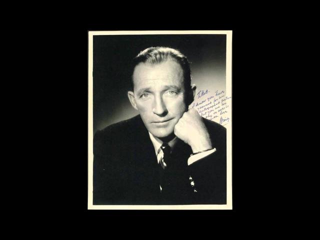 Bing Crosby- Domino (Lyrics)