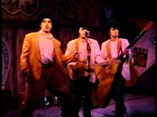 Very Early RED ELVISES in Giant Pompadours