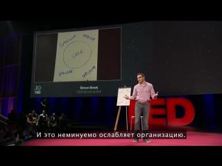 TED. Саймон Синек: Почему с хорошим лидером вы чувствуете себя в безопасности