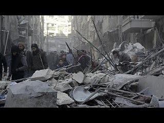 Массовый исход жителей из Алеппо. Турция обвиняет Россию