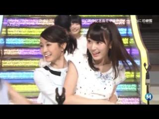 Perf AKB48 - Kimi wa Melody @ Music Station (11 Maret 2016)