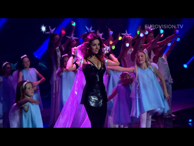 Zlata Ognevich Ukraine 2013 performs at the Junior Eurovision Song Contest 2013