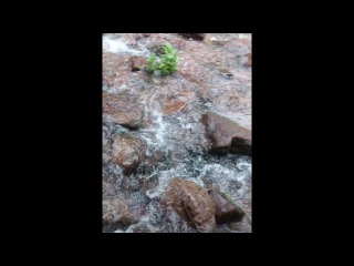 Искусственный водопад Григоревское  ущелье