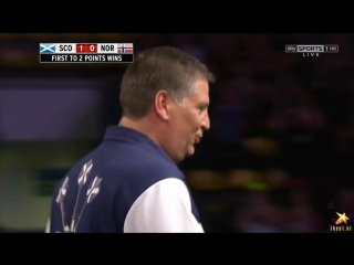 Scotland vs Norway (PDC World Cup of Darts 2016 / Second Round)