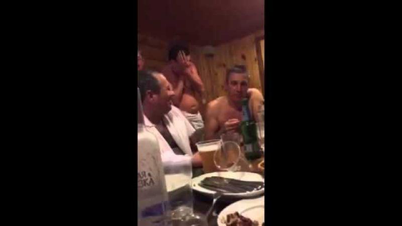 Два путя будет Мужик в бане рассказал смешной анекдот Ржач