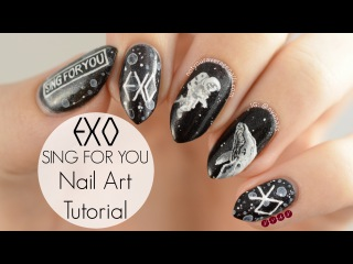 "EXO ""Sing For You"" Nail Art Tutorial"
