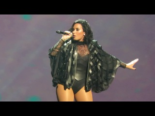 Demi Lovato performing Confident on 7/12/16 on the Future Now Tour at the Prudential Center