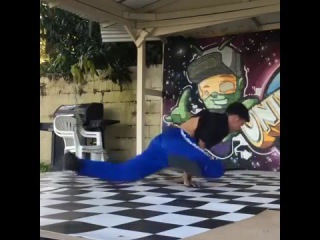 B-Boy Victor | Practice time