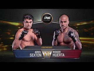 Ariel Sexton vs. Roger Huerta full fight