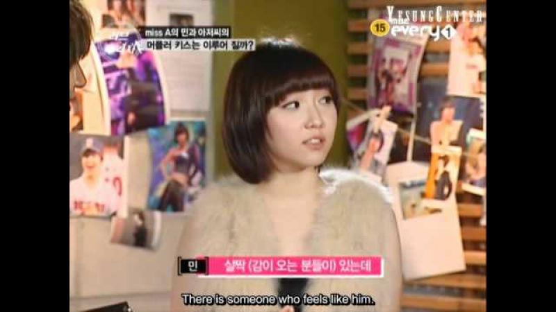 Engsub MC cut 101028 Love Pursuer ep9 Miss A Min Fcuz Jinon as guests