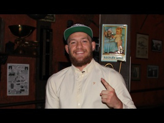 Conor McGregor I promise to Nate Diaz will not hold up to the second round ► Interviews EXCLUSIVE