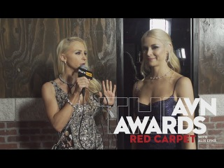 Pornhub at AVN 2016 : Alix Lynx asks what's the weirdest thing that's ever been inside of you?