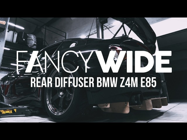 Making of rear diffuser for BMW Z4M e86 Part 1