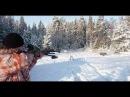 Зимняя загонная охота на кабана
