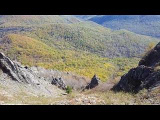 Осенний подъём на гору Сахарную (875 м)