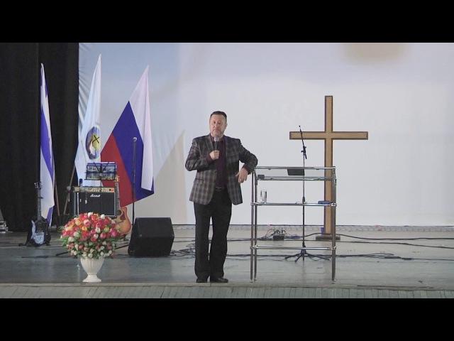 Епископ Игорь Инкин Возвращение в Эдем Часть 1