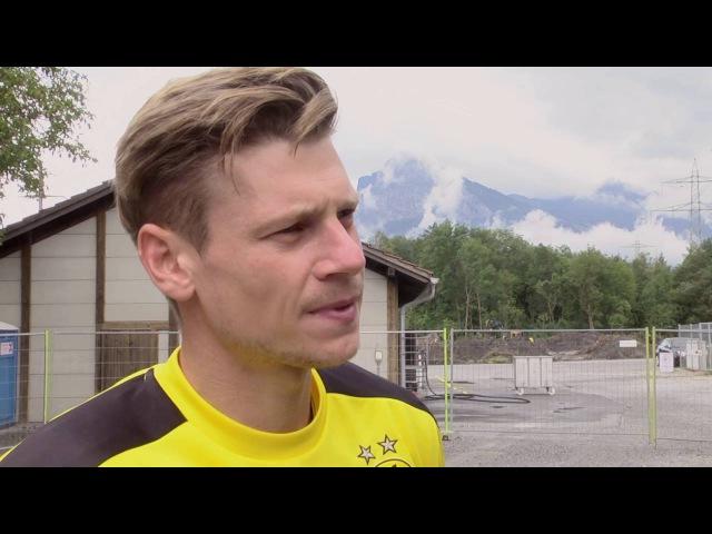 Lukasz Piszczek spricht über das BVB Trainingslager in Bad Ragaz