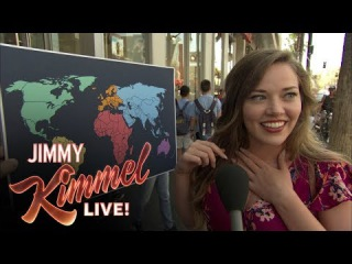 How Many Americans Know Where North Korea Is? | Jimmy Kimmel Live!